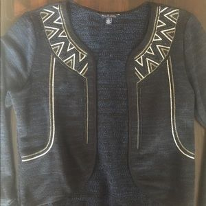 Embroidered American Eagle cardigan